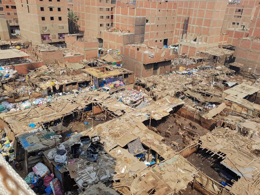 Müllviertel von oben