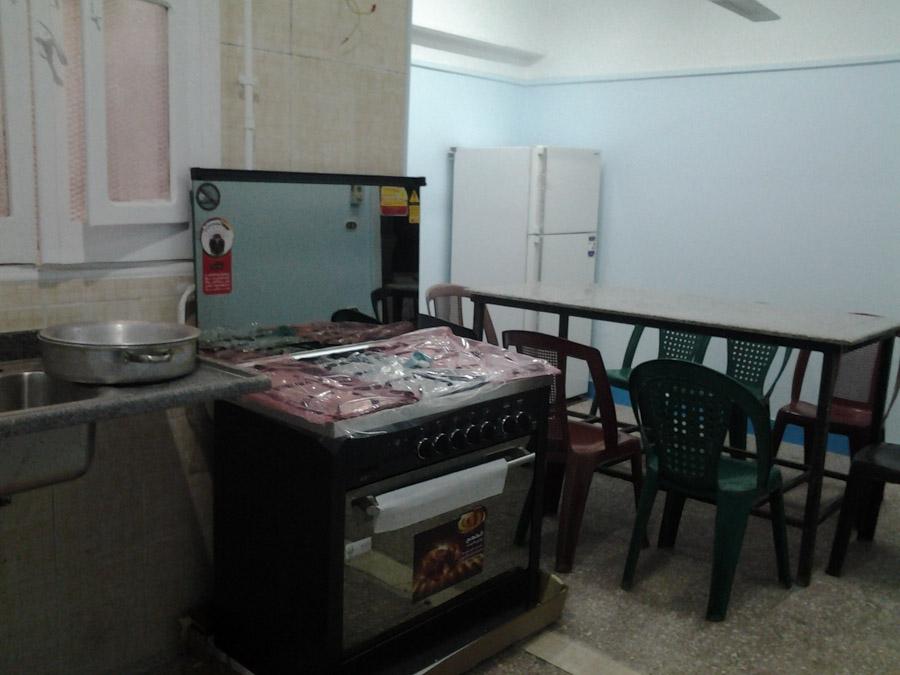 Neubau einer Lehrküche