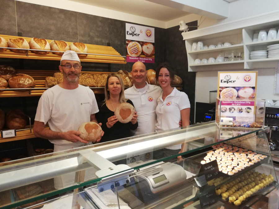 Gruppenbild Bäckerei Euper